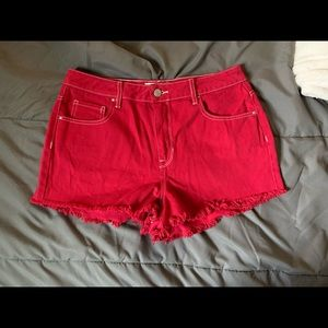 Red Pacsun Shorts